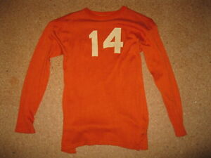 Vintage 1940's Rawlings football jersey from Fort Riley Kansas