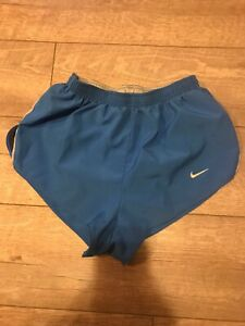 Nike Dri-Fit Running Shorts Gym Athletic Blue Women's Size Small