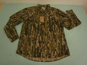 duck camp co Midweight Shirt - Early Season Woodland  XL