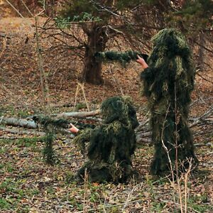 Red Rock Youth Kids Ghillie Suit Hunting Halloween Camo Woodland Camouflage14-16