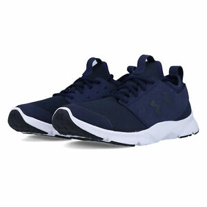 Under Armour Mens Drift RN Mineral Running Shoes Sneakers Trainers Navy Blue $36.33