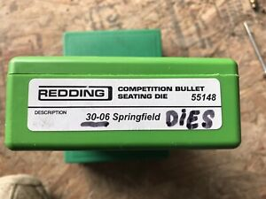 55148 Redding 30-06 Springfield Competition Bullet Seating Die.