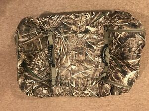 Mud River Ducks Unlimited Insulated Kennel Cover - Realtree - Large Extended