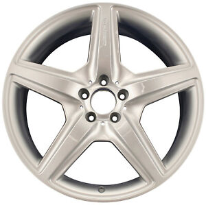 OEM Recon 20X9.5 Rear Alloy Wheel Bright Silver Full Face Painted 560-85029