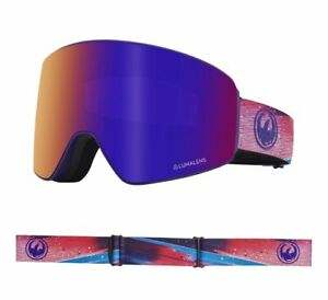 Dragon PXV Abstract Lumalens Purple Ion Lumalens Amber Snow Goggle NIB NEW 2019
