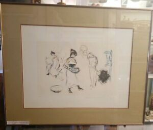 Pablo Picasso Hand Signed by Marina Picasso Estate Collection Artist Proof 1