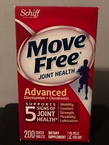Schiff Move Free Advanced Joint Health - 200 Tablets 11/2019