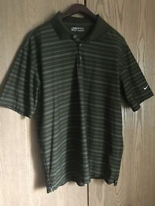 NIKE GOLF FIT DRY Men's Embroidered Swoosh GolfPolo Shirt ⛳️ M