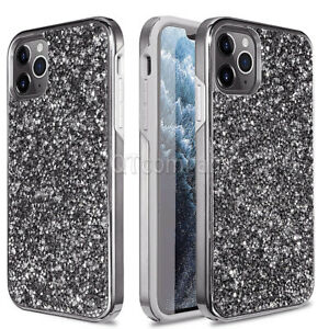 For iPhone 11 Pro XR XS Max 6 7 8 Plus Bling Glitter Girls Women Cute Case Cover