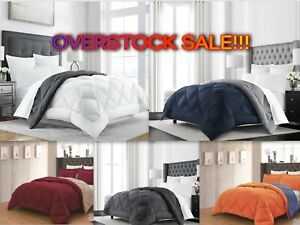Empire Home Goose Down Alternative Reversible Comforter Set - Quality - Sale
