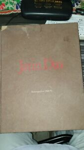 Old Vintage Painter Jatin Das Painting Book from India 1990 $30.00