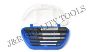5Pc Screw Extractor Set Easy Out Drill Bits guide Broken Screws Bolt Remover New