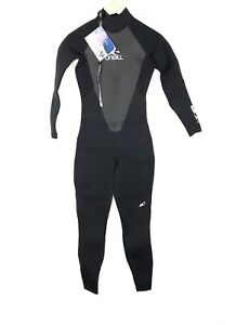 O'Neill Womens Black Epic 4:3 Lumbar Flex Cold Water Wetsuit NEW wTags - Size 8
