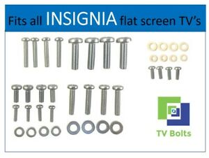 Full set of INSIGNIA TV Mounting BoltsScrews and Washers - Fits any size TV