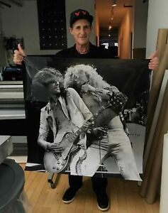 LED ZEPPELIN PHOTO - 50 INCH X 50 INCH - RARE LIMITED EDITION  #2 Of 20 ARCHIVAL