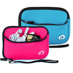 Neoprene Sleeve Travel Case Electronic Cable Power Bank Accessories Organizer $11.99