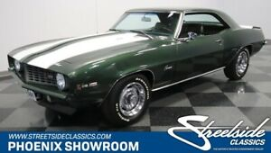 1969 Chevrolet Camaro Z/28 X33 Z28 Chevy DZ302 V8 Manual Classic Vintage Collector Green Black Original Fac
