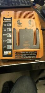 Ridgid Battery Charger Rapid Max 9.6V 12V. 18V Mo