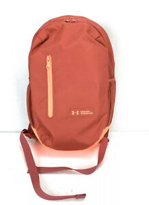 Under Armour NEW School College Laptop Bag Backpack For Student Salmon Orange