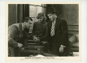MISSING WITNESSES Original Movie Still 8x10 Sheila Bromley, Crime 1937 21282