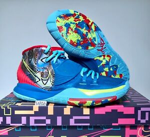 Nike Kyrie Irving 6 VI Pre Heat NYC New York City CN9839 401 Blue Red Size