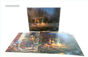 Thomas Kinkade Studios Mickey Mouse Set of 7 Sweetheart Valentine's Art Prints