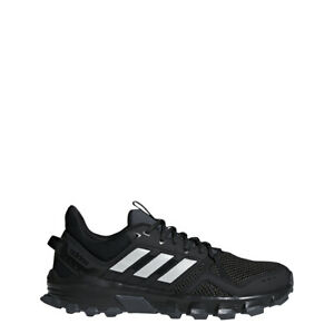 Mens Adidas Rockadia Trail Black Sport Athletic Running Shoes F35860 Size 9-11.5