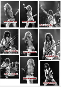 LED ZEPPELIN PHOTO - 40 INCH X 50 INCH - RARE - PICK ONE OF 100 SHOTS