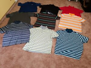 LOT 9 MEN XXL NIKE STANDARD FIT DRI-FIT TOUR PERFORMANCE POLO GOLF SHIRTS XXL