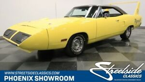 1970 Plymouth Superbird -- Mopar Original Restored Match V8 A727 Classic Vintage Collector Rare Documents Y