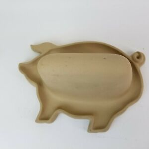 Harger Natural Stone Pig Shaped Microwave Bacon Cooker MADE IN USA