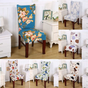 New Elastic Dining Chair Cover Piece Chair Set Stool Set Hotel Home Chair Decor