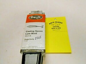 3265 Do-It Casting Spoon Lure Mold 4 oz  I refund excess shipping fees!