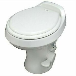 Dometic Sealand 302300071 300 Series RV Toilet White Camper Trailer High Profile