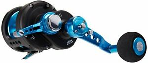 Daiwa STTLD40-2SPD Saltist 2-Speed Conventional Lever Drag Reel Blue Finish