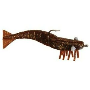 DOA Shrimp 3pk - Soft Plastic - 3 Inch & 4 Inch Sizes - All Colors Available