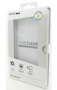 Tech21 Evo Pure Clear Series Case Clear for the Iphone 11 Pro 5.8