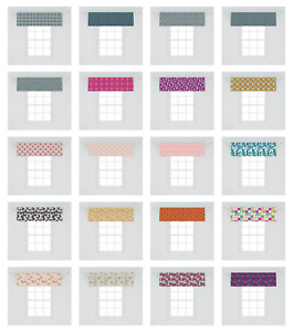 Ambesonne Vintage Motif Window Valance Curtain for Kitchen Bedroom in 2 Sizes