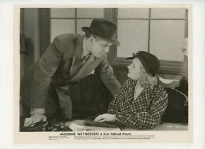 MISSING WITNESSES Original Movie Still 8x10 Sheila Bromley, Crime 1937 21280