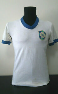 Brazil 1930s Match Worn Football Jersey Shirt - Brasil Camisa - COA