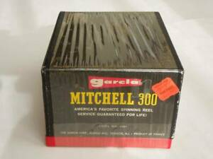 Mitchell 300 new goods unopened goods Mitchell made in France vintage reel