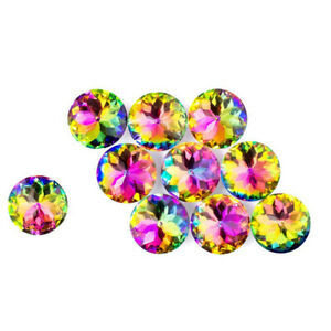 10 Colorful Crystal Glass Cabinet Knob Diamond Shape Drawer Cupboard Handle Pull