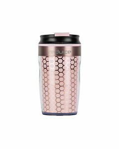reduce DASH Insulated Tumbler - Coffee Travel Mug with Threaded Leakproof Lid