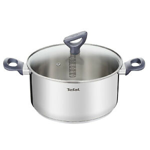 Tefal Daily Cook Stainless Steel Induction Stewpot 5.4 qt Dishwasher Oven Safe
