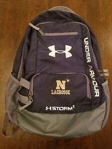 Under Armour Storm Hustle Back Pack previously owned by Navy Lax player