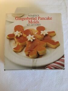 Amco Gingerbread Pancake Molds
