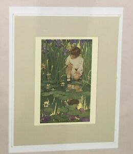 The Fairy Pool - Jessie Wilcox Smith - LITHO 9 34' BY 7 34