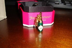 NEW JUICY COUTURE MINI CHAMPAGNE BOTTLE CHARM FOR BRACELET NECKLACE $54.99