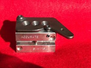 Accurate 32 caliber 3 cavity bullet mold 32-20 and other 32 cal cartridges