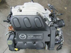 2002 2003 2004 2005 Mazda MPV Engine and Transmission AJ JDM